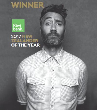 Taika Waititi named New Zealander of the Year