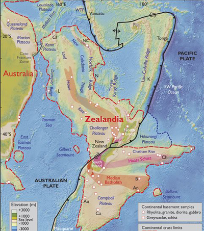 Earth Has Brand-New Continent Called Zealandia