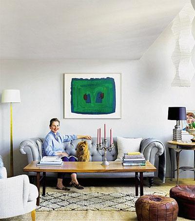 Inside Cassandra Ellis' Bright London Haven
