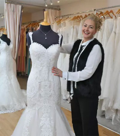 Cathy Procter's Bridal Store up for UK Award