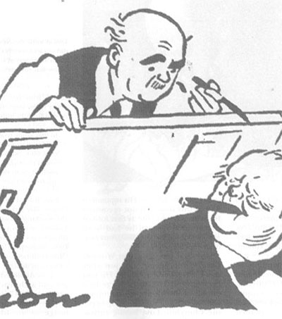 David Low's Churchill Cartoons Live On