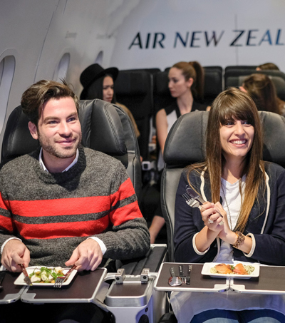 Pop-Up Restaurant That Only Serves Airplane Food