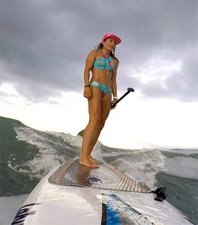 Stand Up Paddler Annabel Anderson Wins Again
