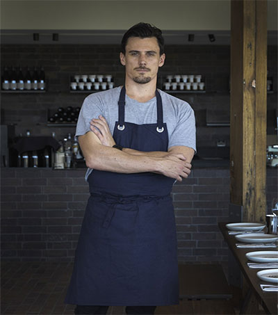 Guy Stanaway Chef in Charge at Doot Doot Doot