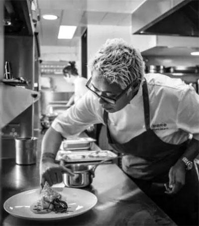 Monica Galetti Cooking as She Pleases in Fitzrovia