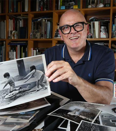 Collector Patrick Pound Shows Treasured Snaps