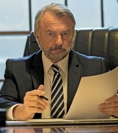 Sam Neill Speaks about Tiny Rowland TV Role