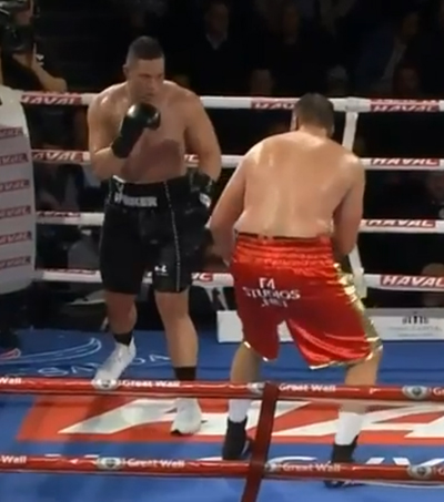 Heavyweight Joshua Parker Gets the Job Done
