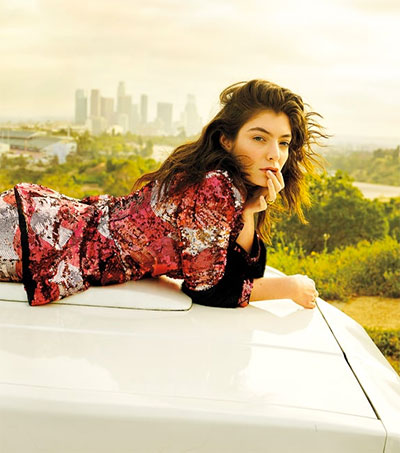 Pop's Outsider Lorde Covers Rolling Stone