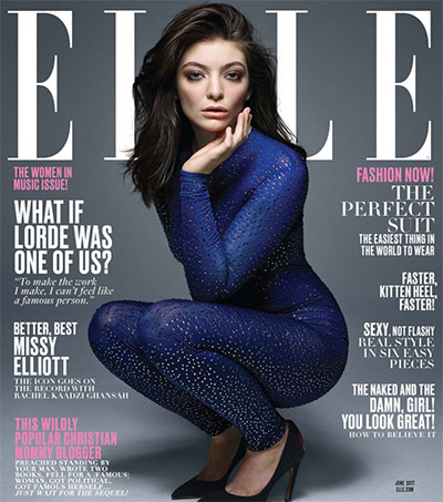 Lorde is ELLE's Dior Cover Girl