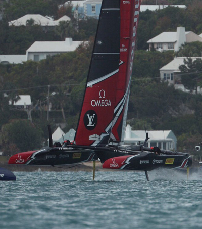 Kiwis Clinch Spot Against Oracle Team USA In America's Cup