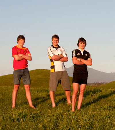 Behind the Scenes of the All Blacks' First Family