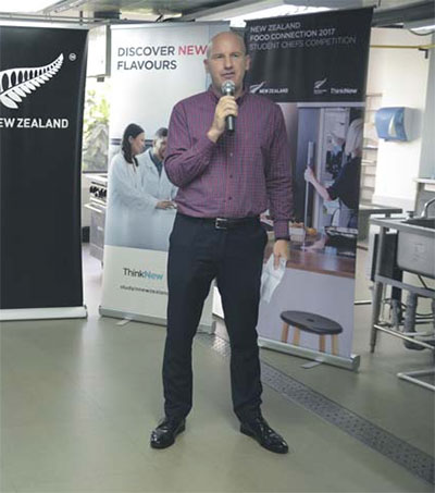 Ben Burrowes Promoting NZ in Southeast Asia