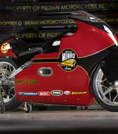 New Fastest Indian for Burt Munro's Great Nephew