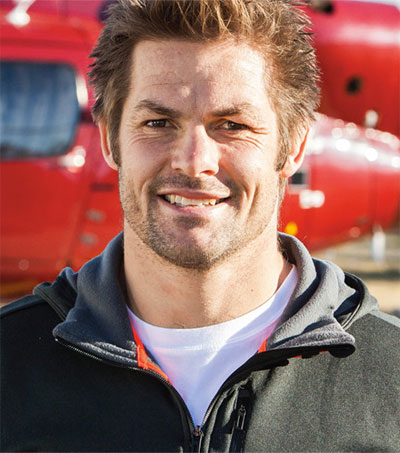 Richie McCaw Enjoying Life Away from the Fast Lane