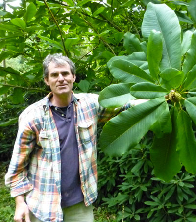 Tom Hudson Showcases Rare Plants in Cornwall