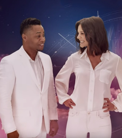 Air New Zealand's New Safety Video Stars Katie Holmes & Cuba Gooding Jr.