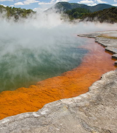 Power of Nature at Wai-O-Tapu Geothermal Park