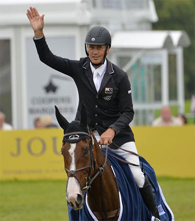 Andrew Nicholson Jumps to Barbury Podium Finish