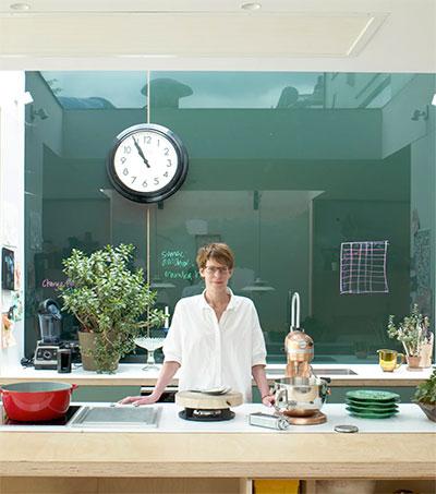 Chef Anna Hansen at Home in Her Own Kitchen