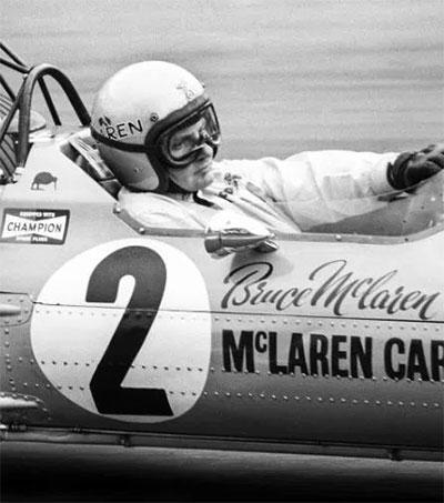 Bruce McLaren Tribute at Silverstone Classic