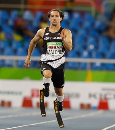 Para-Athlete Liam Malone Vows to Out Do Usain Bolt