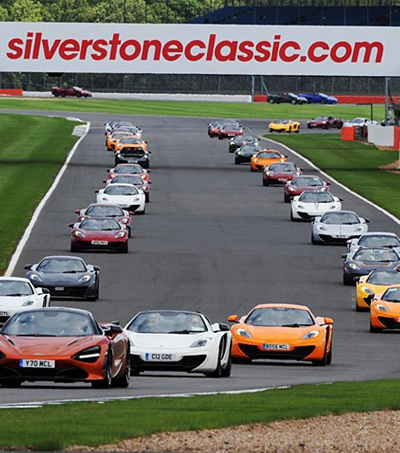 Record McLaren Road Car Gathering Held On Bruce's 80th