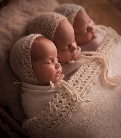 Triplets Melting Hearts All Over the World