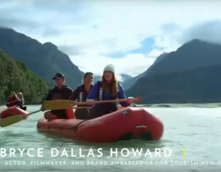Bryce Dallas Howard – Top 10 Adventures in NZ
