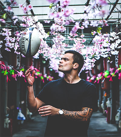 How Rugby Helped Jared James In Japan