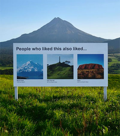 Internet Ads Taking Over NZ's Real Life Wild Spots
