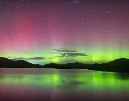 Stunning Aurora Australis Timelapse