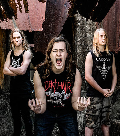 Alien Weaponry Sign with Berlin Label