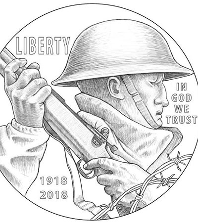 LeRoy Transfield's Design Makes Commemorative Coin