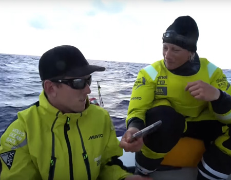 How Peter Burling Found Out He Was Sailor of the Year