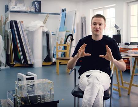 Simon Denny – Studio Visit