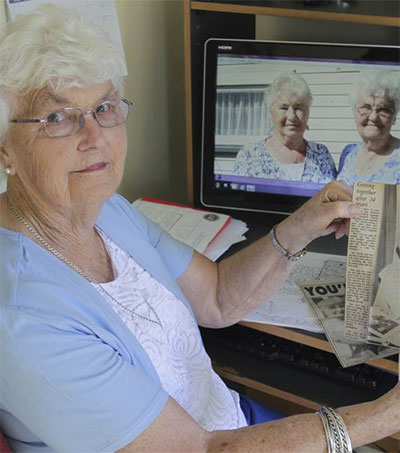 Dedicated Pen Pals Look Back over 70 Years