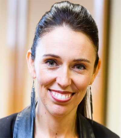 Jacinda Ardern One of World's Most Powerful Women