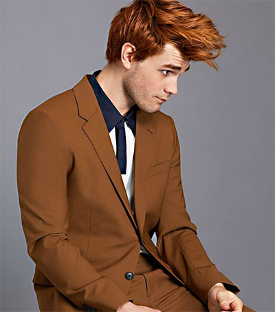 Riverdale's KJ Apa Dresses Up and Down