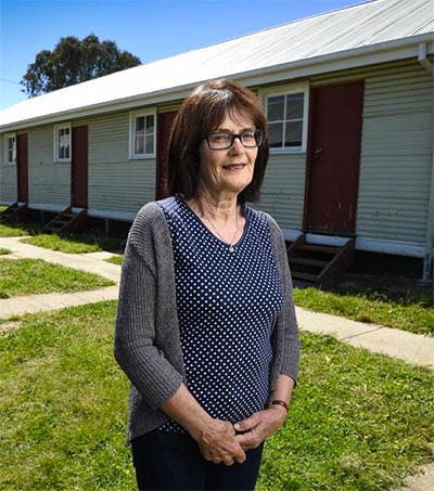 Lois Salvisberg Honours Time in Migrant Centre