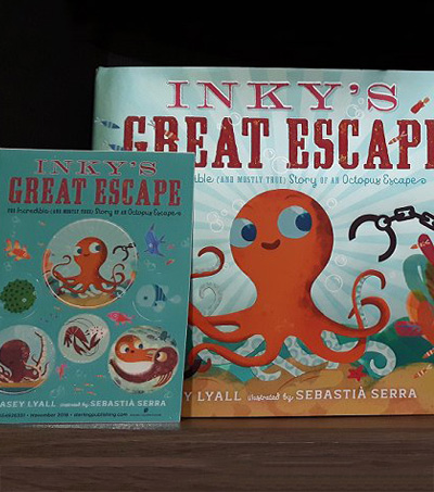 NZ Escape Octopus Immortalized In Kids Book