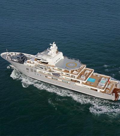 Graeme Hart's Ulysses the Biggest Luxury Yacht Sale in 2017