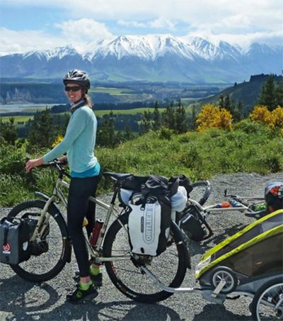Bike Trip in NZ Helps US Woman Realise Her Dream