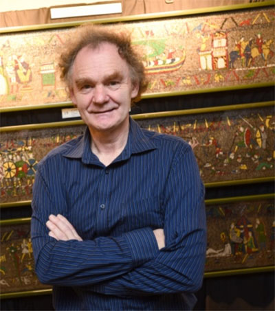 Michael Linton's Record-Breaking Mosaic on Show
