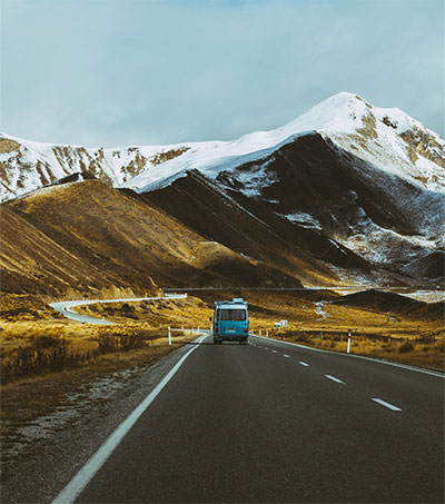 Driving from the Tip to the Tail of New Zealand