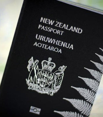 New Zealand on Passport Power Rank Eight