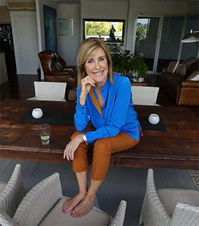 At Home with Newsreader Kay McGrath