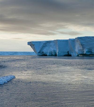 Scientists Assess Surprise Status of Ross Ice Shelf