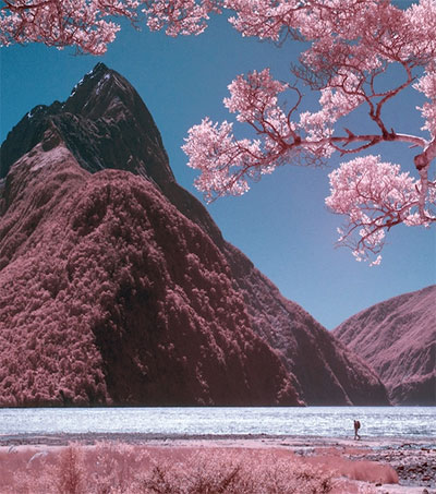 New Zealand Captured in Dreamy Infrared