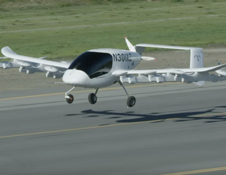 Meet Kitty Hawk's Flying Taxi Cora